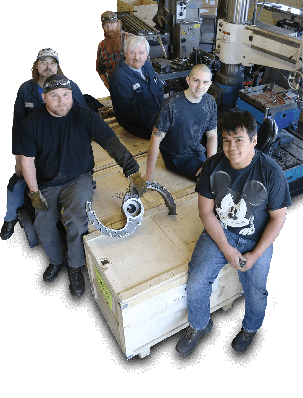 Western Industrial - St. Paul, Oregon - Full service fabrication and machine shop